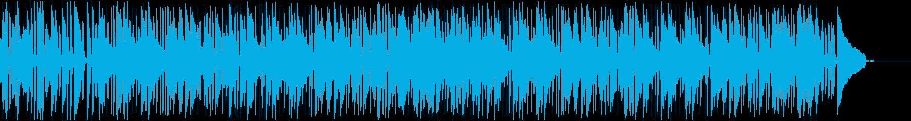 ジャズ・オシャレ・ランチ・休憩・カフェの再生済みの波形