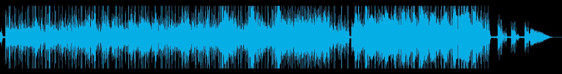 ワルツの曲に可愛い女性vocalの再生済みの波形
