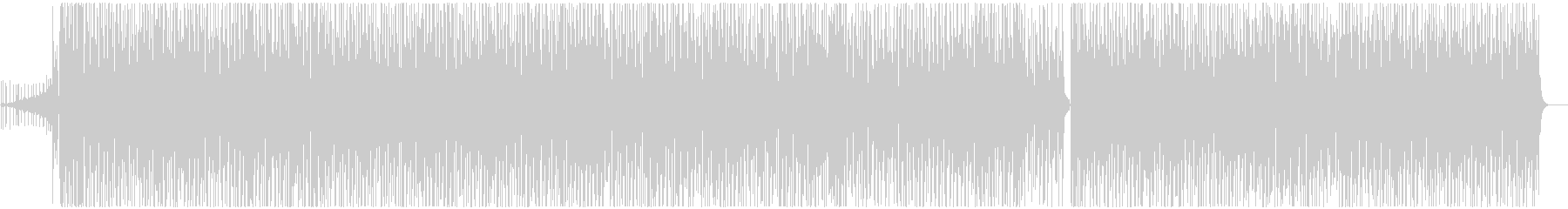 デジタルノイズが彩るブラジリアングルーヴの未再生の波形