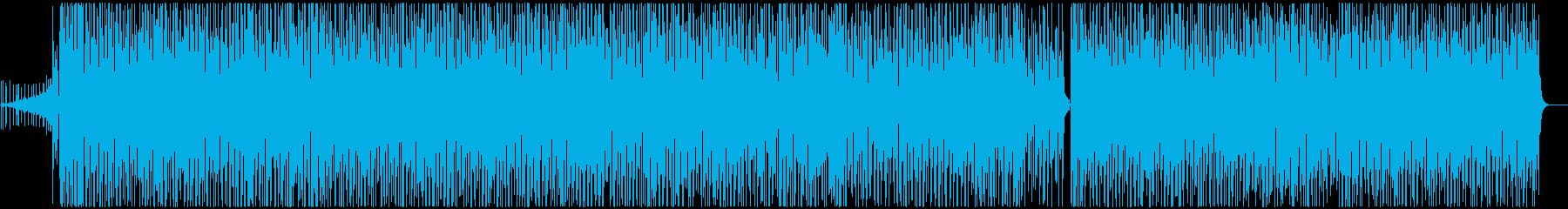 デジタルノイズが彩るブラジリアングルーヴの再生済みの波形