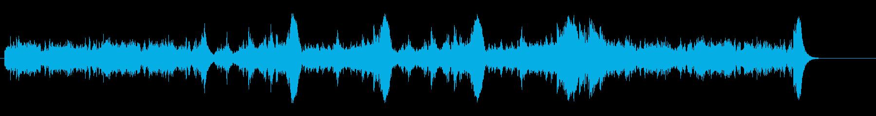 緊張感漂うオーケストラ風ドキュメントの再生済みの波形
