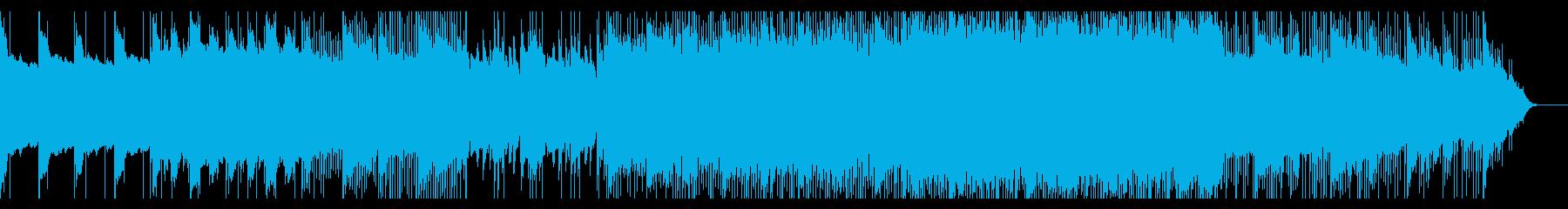映画のエンドロール風・しっとりピアノ。の再生済みの波形