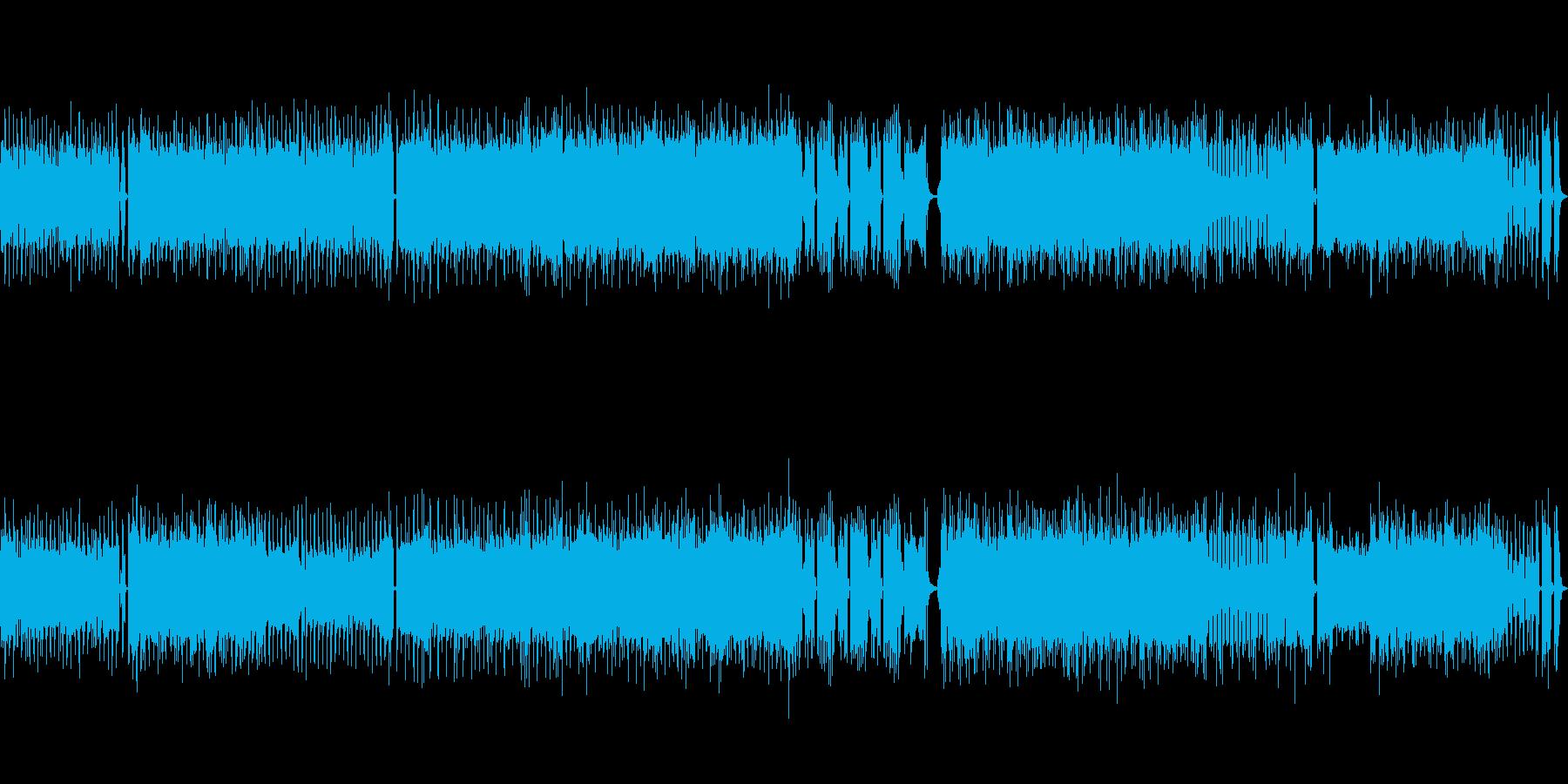 高音質♪ロックアップループ曲の再生済みの波形
