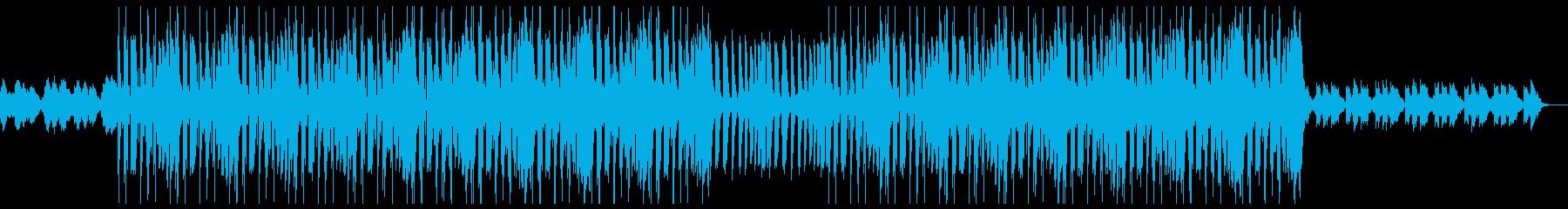 レトロ 哀愁 トラップビートの再生済みの波形