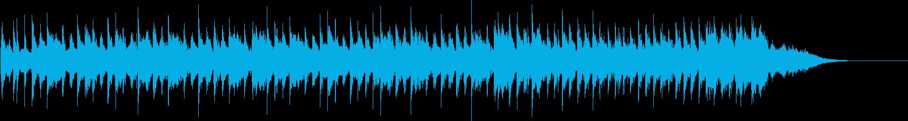 サーカスの世界に迷い込んだようなサウンドの再生済みの波形