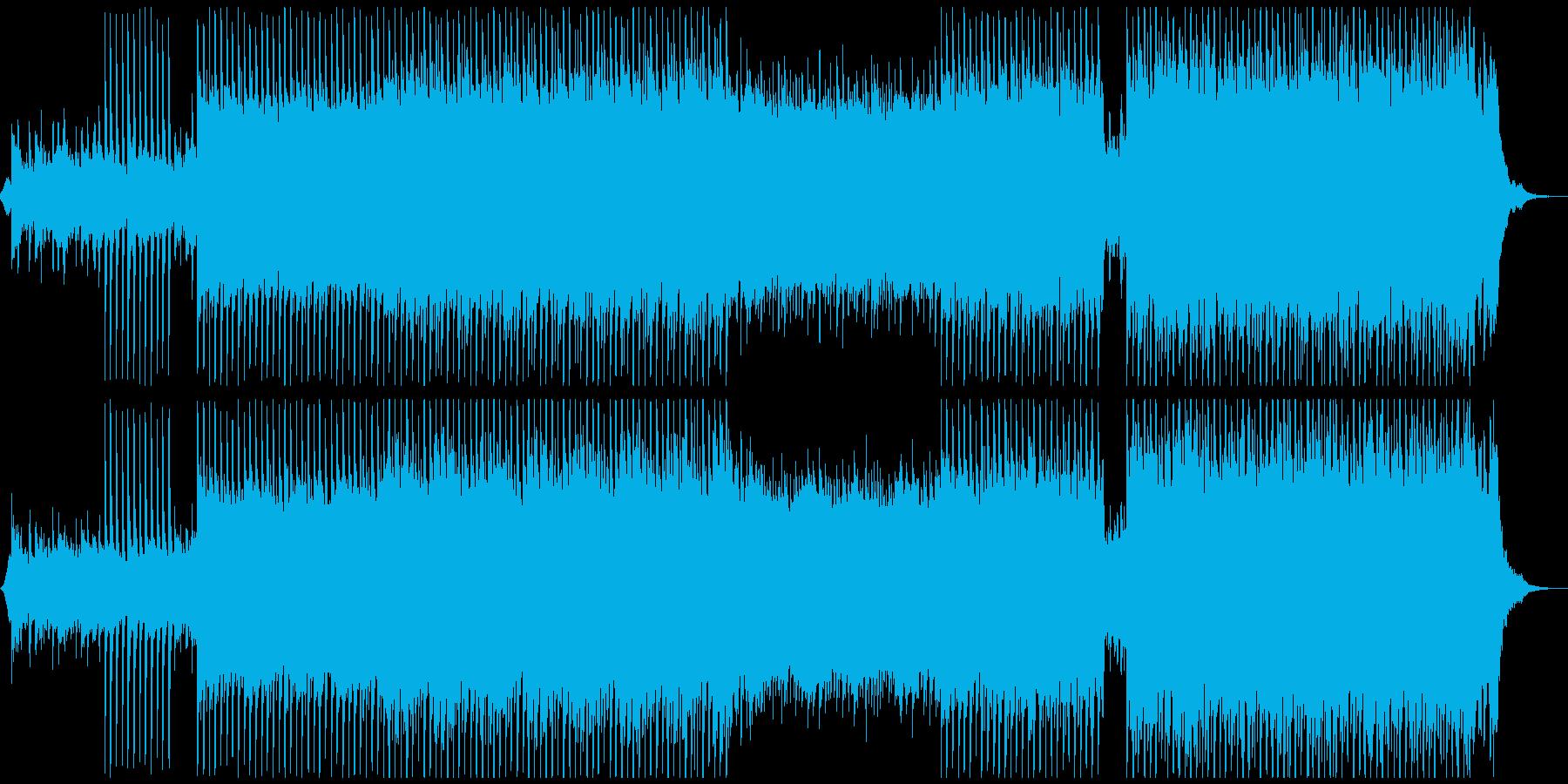 ハッピーコーポレートの再生済みの波形