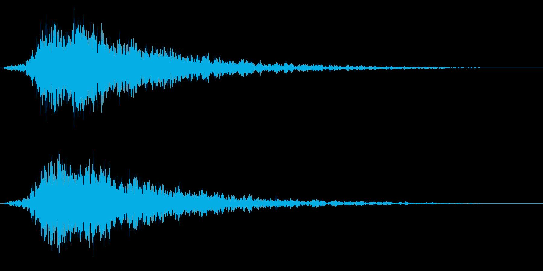 キラキラ(テロップ/魔法/輝きなど) 5の再生済みの波形