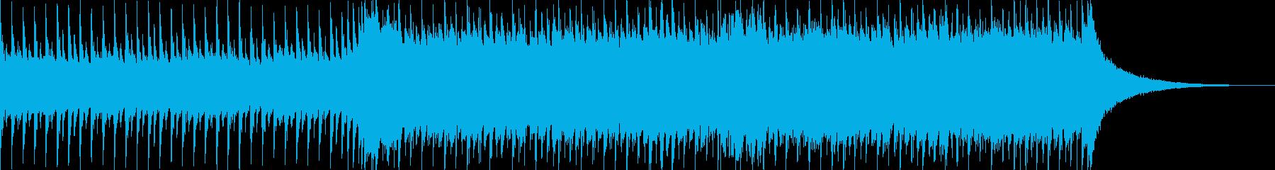 企業VP系34、爽やかギター4つ打ち11の再生済みの波形