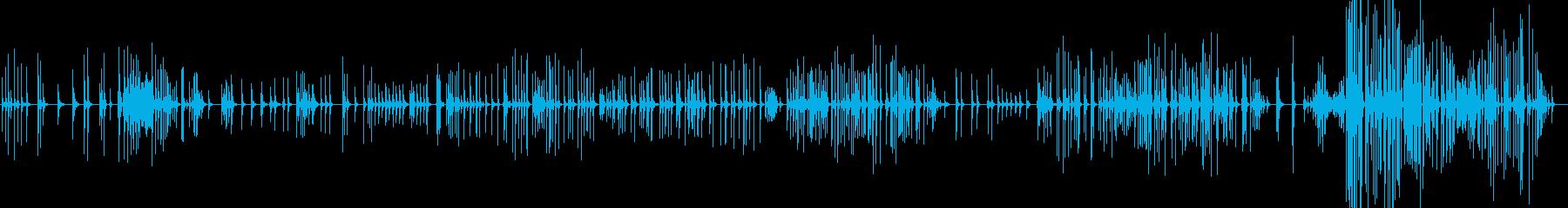 三味線149石橋1真面目な曲寂照法師唐土の再生済みの波形