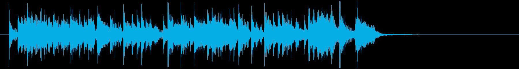緊張感をあおるクイズ番組考え中ー10秒の再生済みの波形