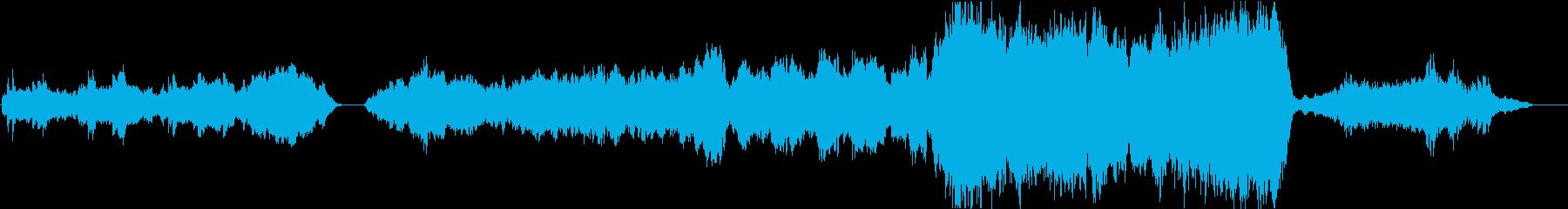 星空を表現したドラマチックオーケストラの再生済みの波形