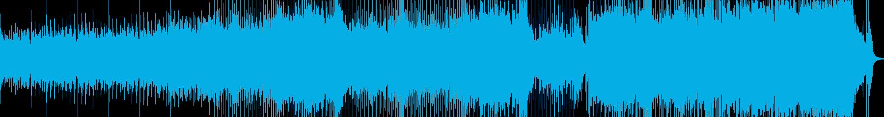 まったりサンセット、夏の終わり感BGMの再生済みの波形