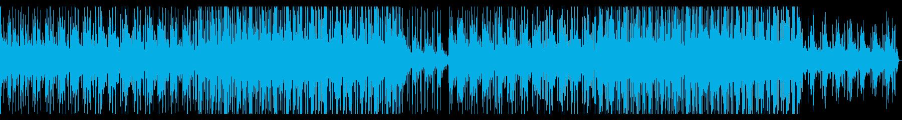 南国風HiphopTrackの再生済みの波形