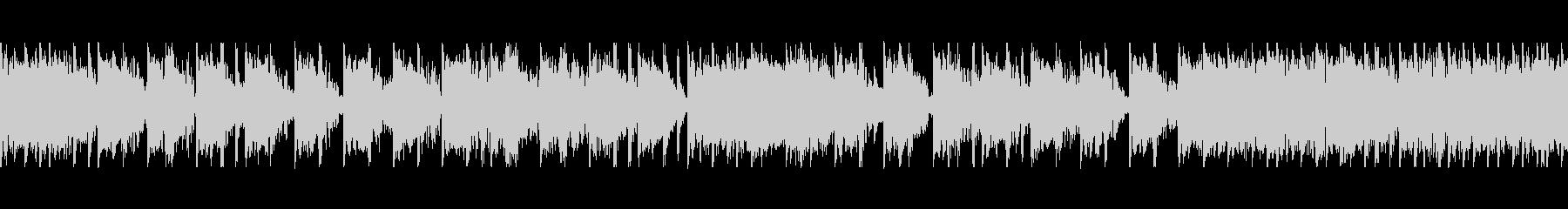 ダークなイメージのゆっくりな曲の未再生の波形