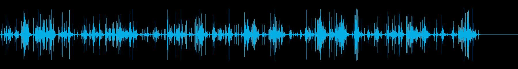 [生音]ビー玉をカチャカチャする01の再生済みの波形