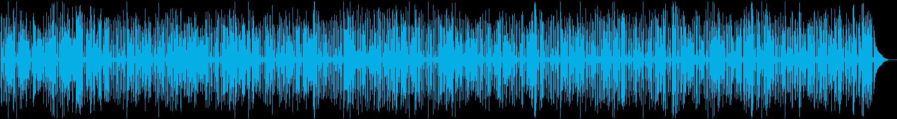 YouTube、軽快、楽しいジャズピアノの再生済みの波形