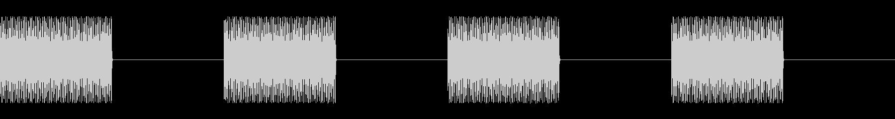 「トゥルルル」電話呼び出し音(発信側C)の未再生の波形