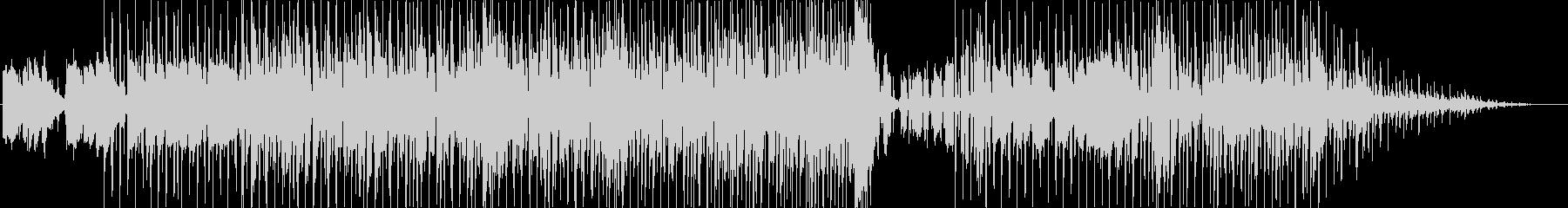 魅力的なイントロの後の歌の種類はキ...の未再生の波形