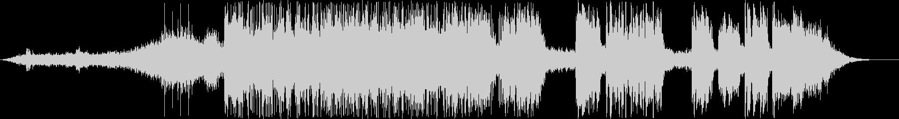 ティンパニの雄牛の未再生の波形