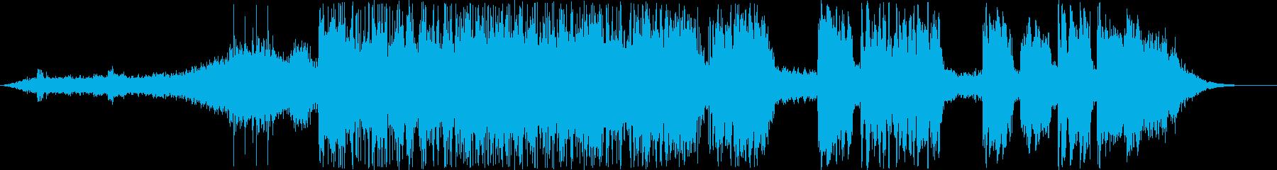 ティンパニの雄牛の再生済みの波形