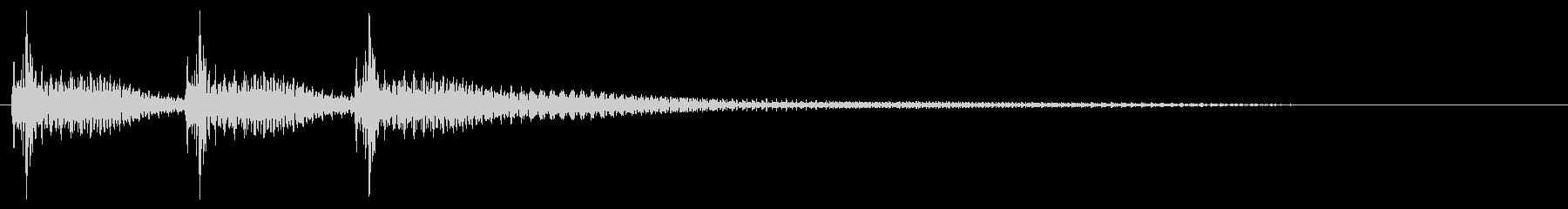 べべべん(琵琶)01の未再生の波形