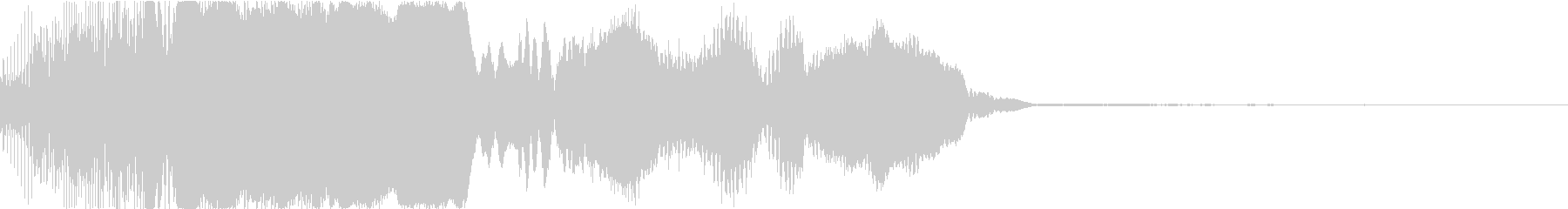 ピコン_必殺ゲージが溜まった時の音の未再生の波形