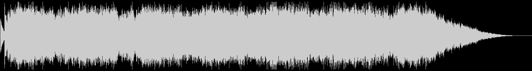 背景音 サスペンス 3の未再生の波形