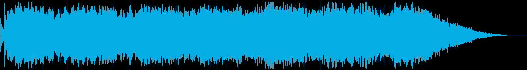 背景音 サスペンス 3の再生済みの波形