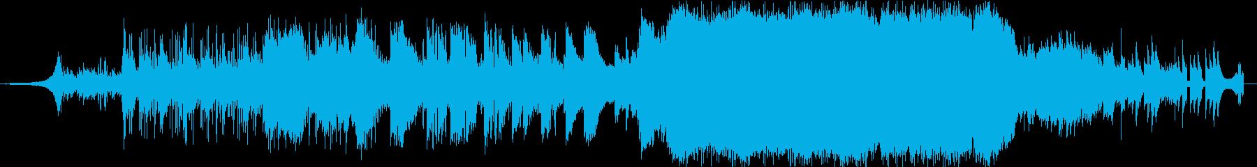 ロックソング、ダイナミック。英語。の再生済みの波形