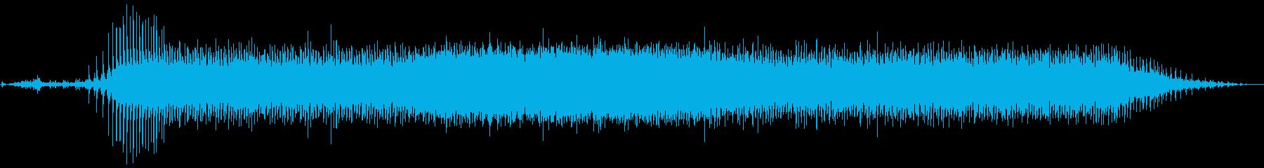 ガス法律家:プルスタート、アイドル...の再生済みの波形