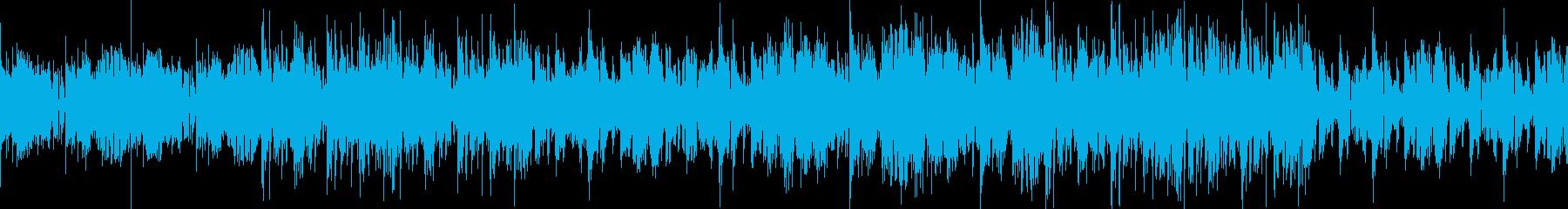 人間とAIの再生済みの波形