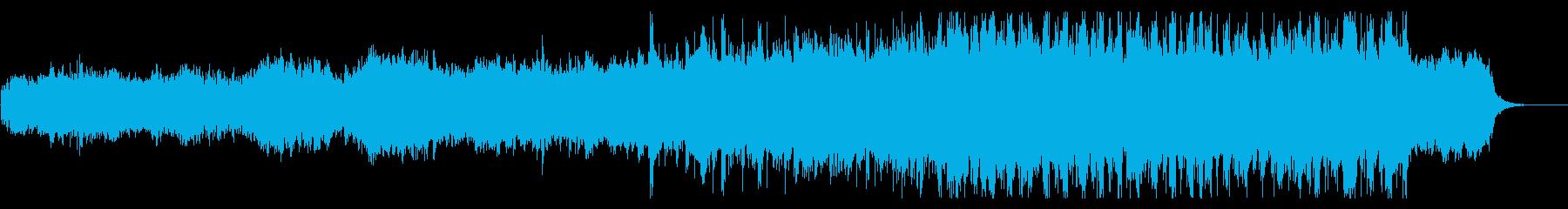 ナイロンギターが印象的なシネマティックの再生済みの波形