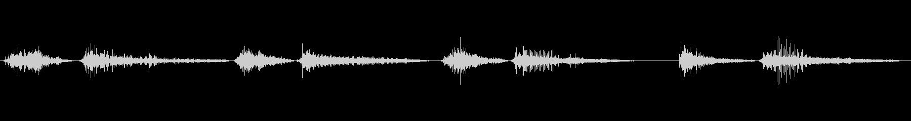 モンスター いびきバイブレーション02の未再生の波形