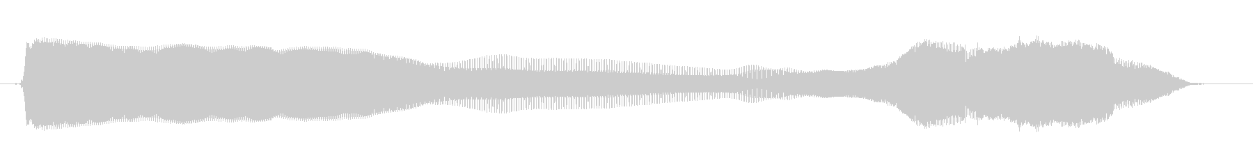 いーいーよーの未再生の波形