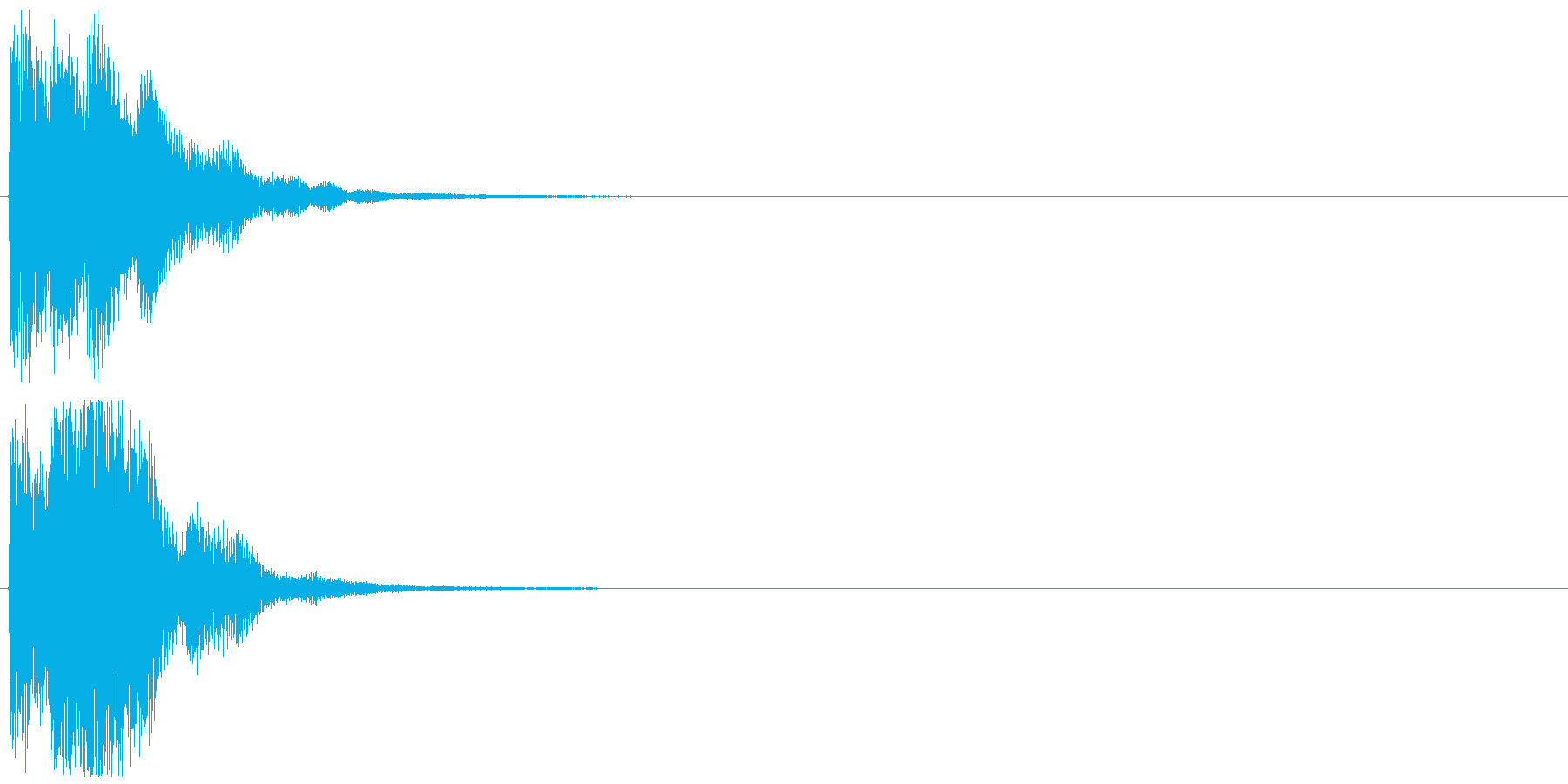 「表示」キャプション/テロップ_001の再生済みの波形