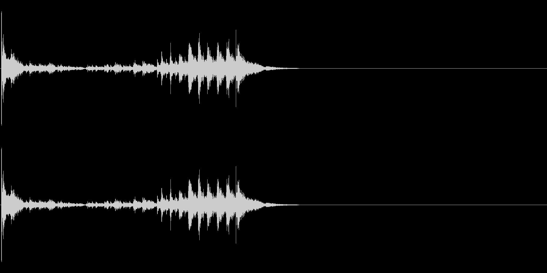 生演奏 琵琶 武士 和風 古典風#17の未再生の波形