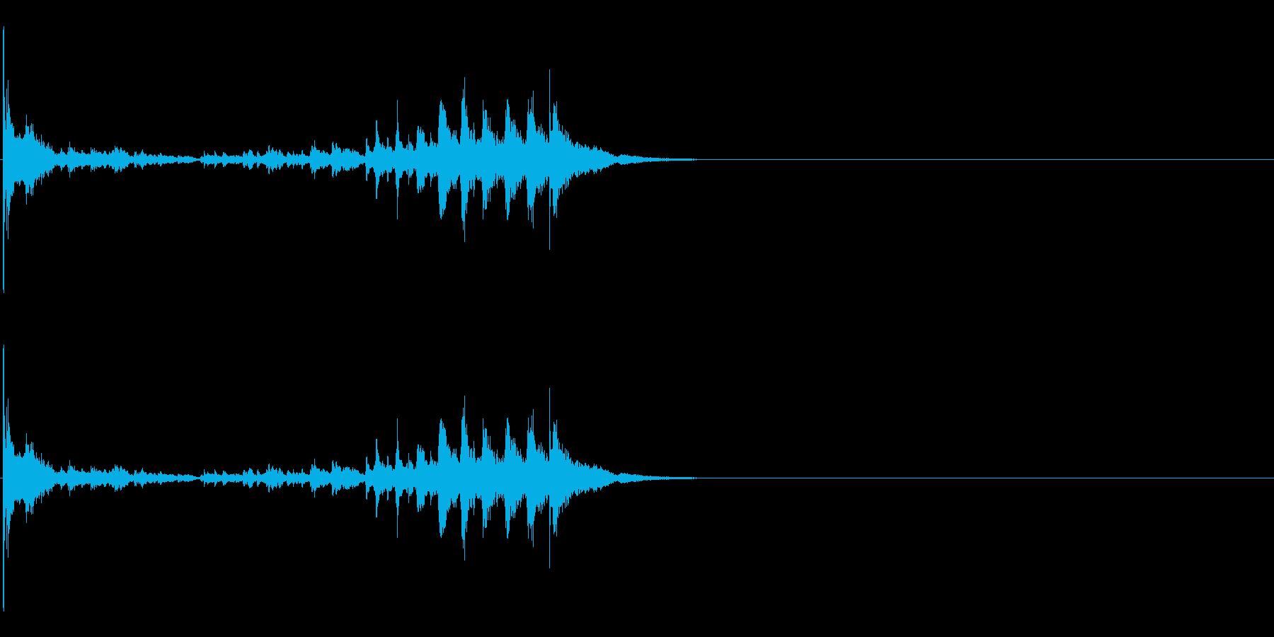 生演奏 琵琶 武士 和風 古典風#17の再生済みの波形