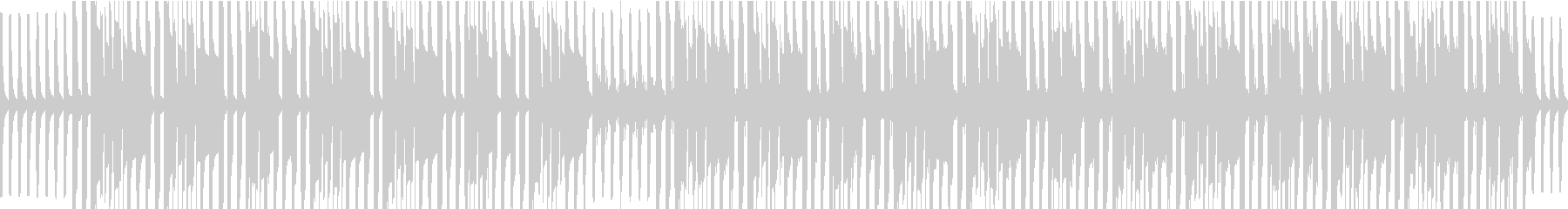 探偵、バスドラ四つ打ちループ音源の未再生の波形