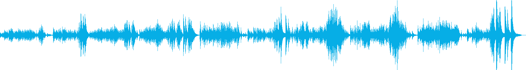 ラヴェル 亡き王女のためのパヴァーヌの再生済みの波形