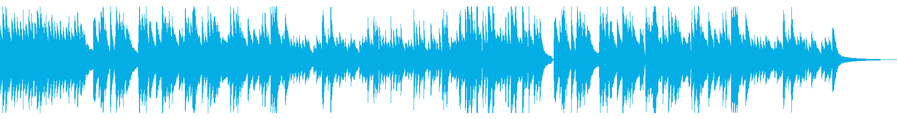 切なく温かいメロディのピアノソロバラードの再生済みの波形