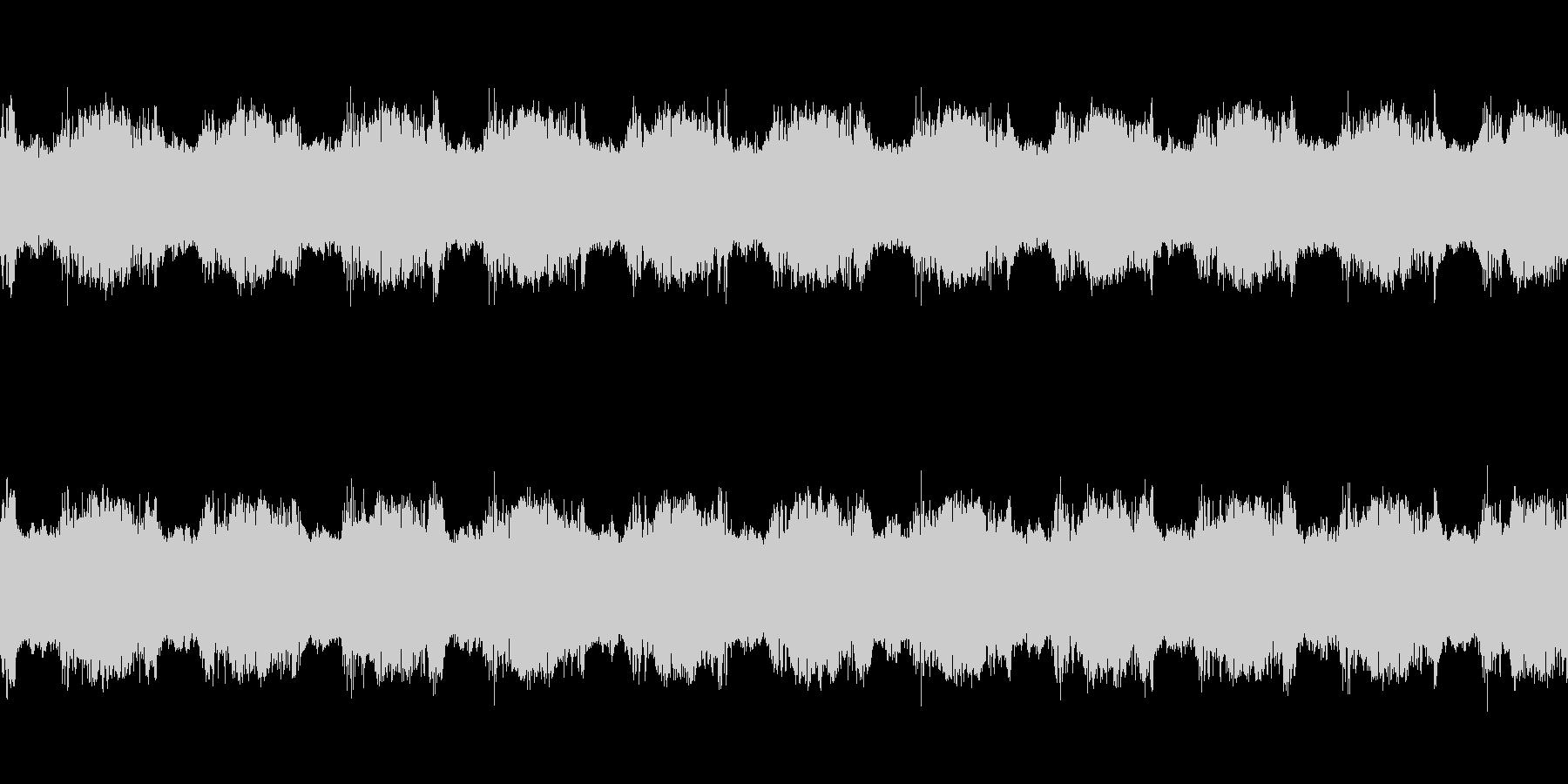 ギュイーン(必殺技を打ち込む音)の未再生の波形