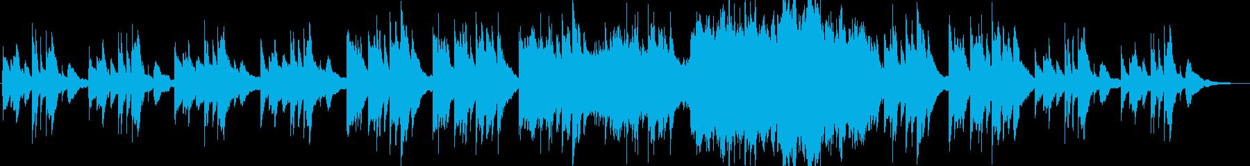 切ない雰囲気の綺麗なクラシックBGMの再生済みの波形