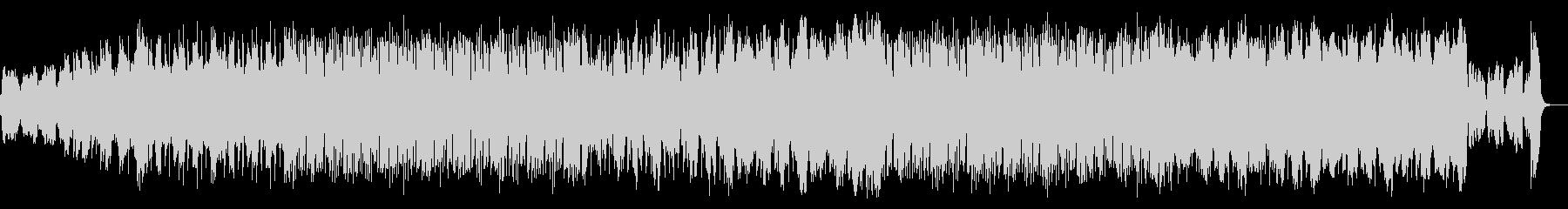 オーボエのリフレインとエレクトロニカの未再生の波形