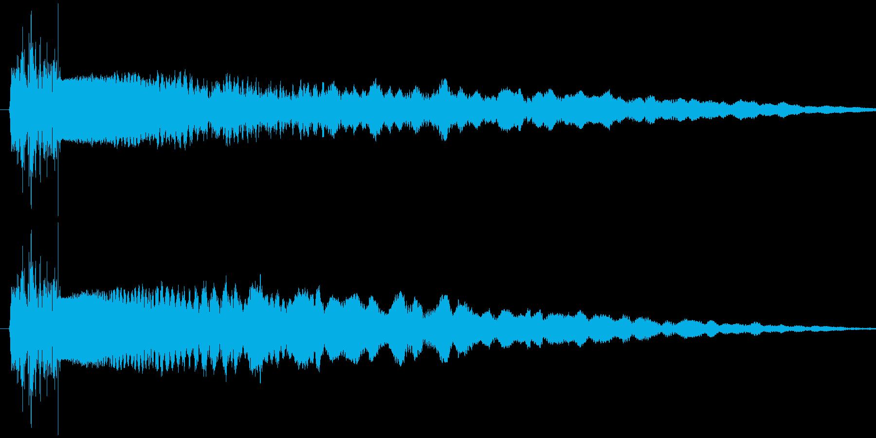 シャキーン(ドキュイーン)の再生済みの波形