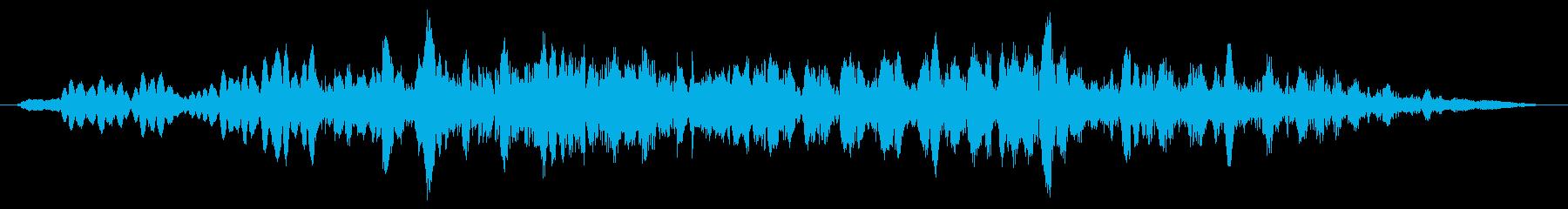 グリッティバジングリップの再生済みの波形