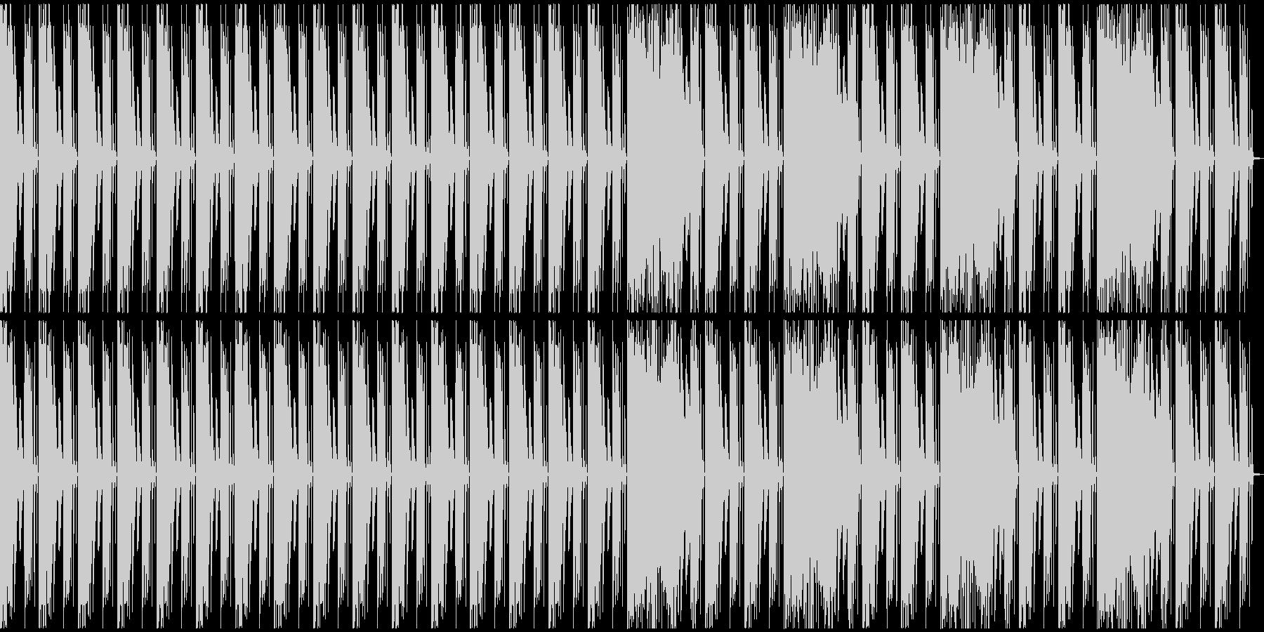 【エレクトロニカ】テクノ、ロング4の未再生の波形