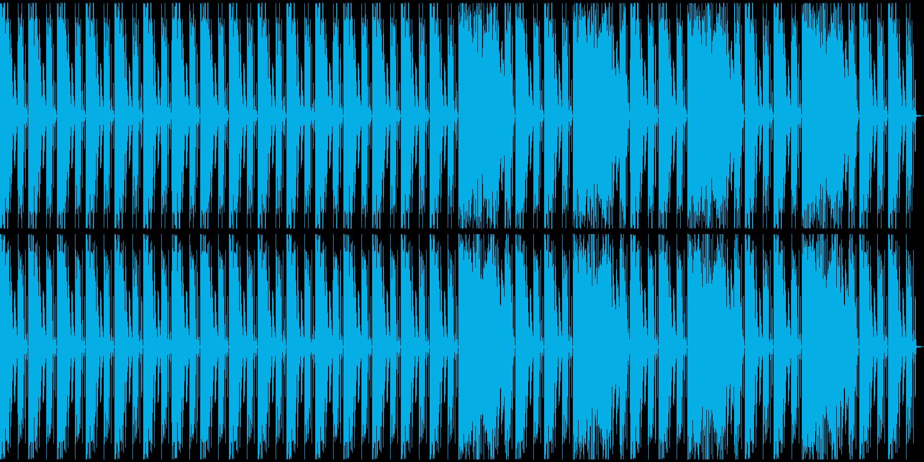 【エレクトロニカ】テクノ、ロング4の再生済みの波形