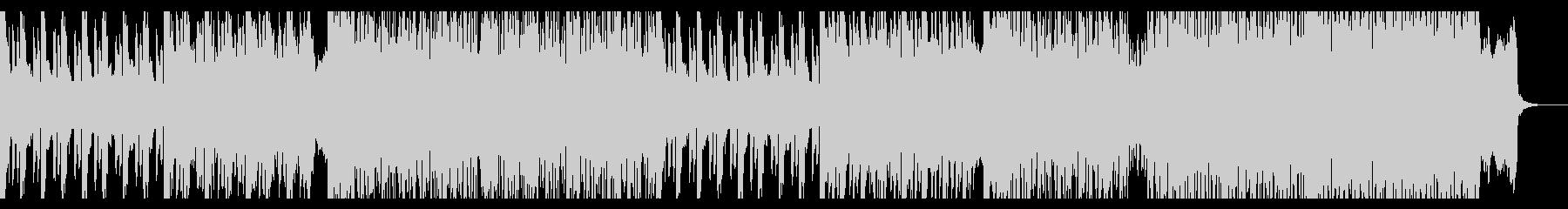 キラキラシンセ盛沢山のJ-POPの未再生の波形