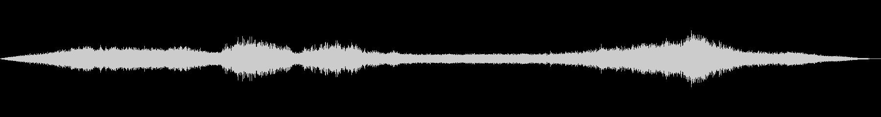 風の効果音(自然、そよ風、ビル風等)03の未再生の波形