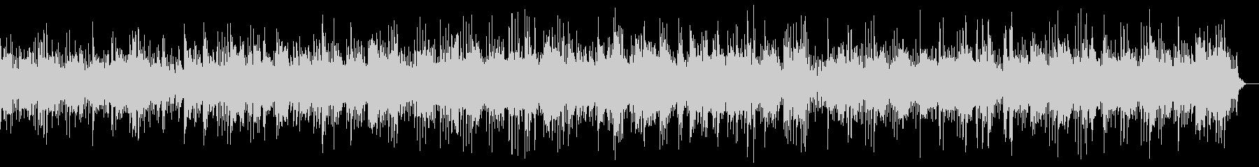旋律の綺麗な高音のヒーリングピアノの未再生の波形